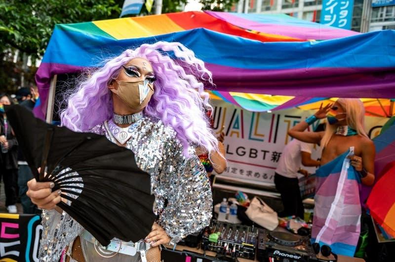 [FOTOS] La colorida protesta japonesa por una ley contra la discriminación a la comunidad LGBT+