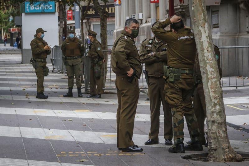 Carabinero resultó herido de bala dentro de una comisaría en Concepción