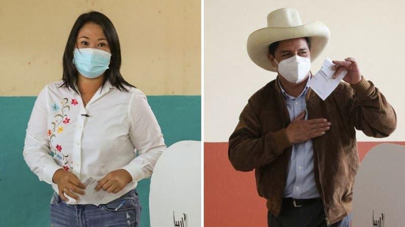 Elecciones en Perú: Revisa los resultados actualizados de la segunda vuelta presidencial