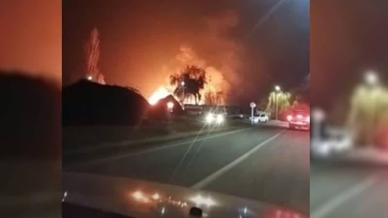 Madre e hija murieron tras incendio de su vivienda en Graneros