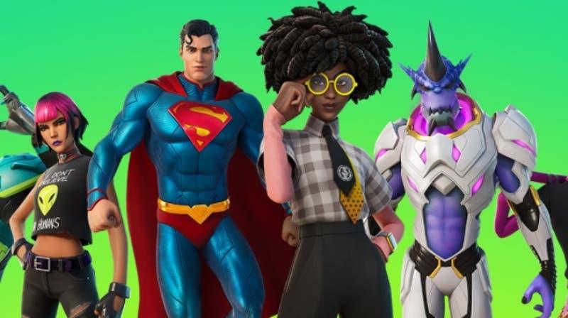Rick and Morty y Superman llegan a la nueva temporada de Fortnite