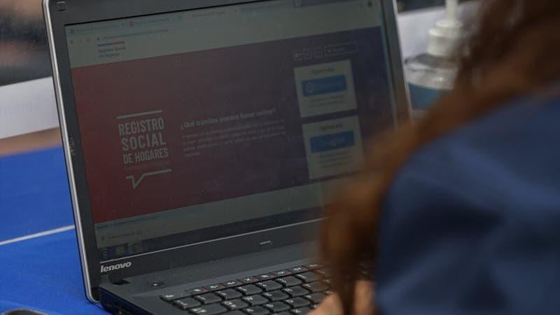 Usuarios reportan problemas con página del Registro Social de Hogares