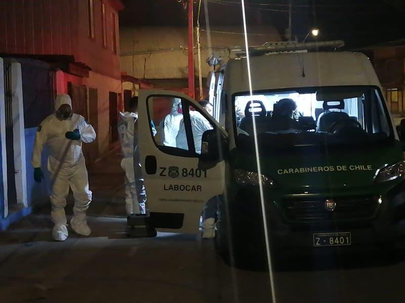 Investigan muerte de dos personas al interior de un cité en Calama
