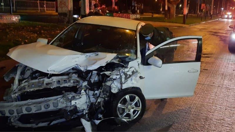 Conductor en estado de ebriedad choca contra vehículo de funcionarios de salud: Se encuentran graves