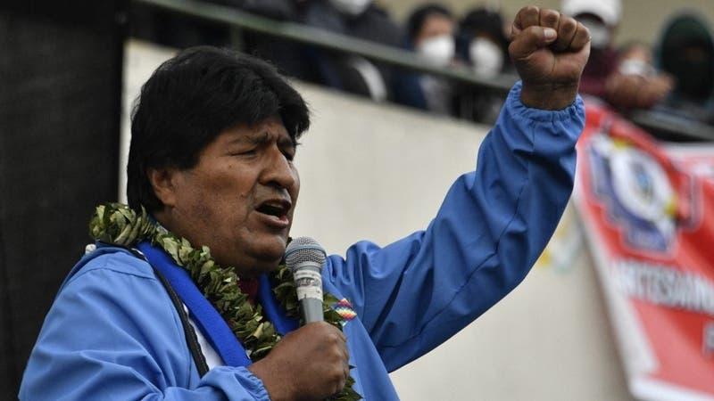 """Evo Morales felicita a Pedro Castillo: """"Eres orgullo de los movimientos sociales"""""""