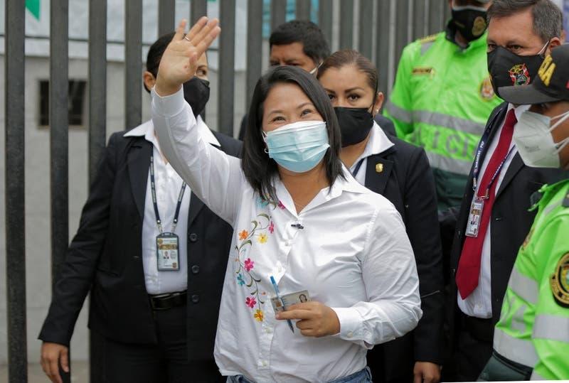 Fiscalía anticorrupción de Perú pide prisión preventiva contra Keiko Fujimori