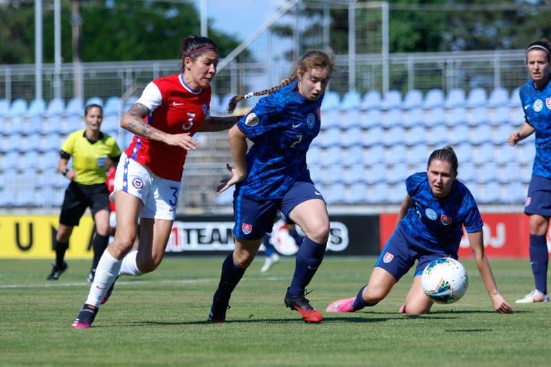 La Roja femenina cae ante Eslovaquia en amistoso de preparación para los Juegos Olímpicos