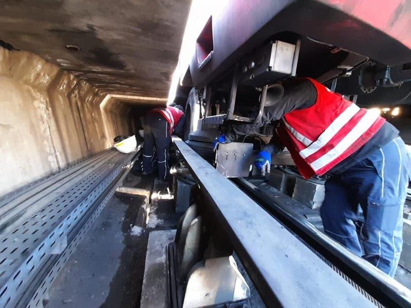 Servicio parcial en L5 del Metro de Santiago por falla en un tren