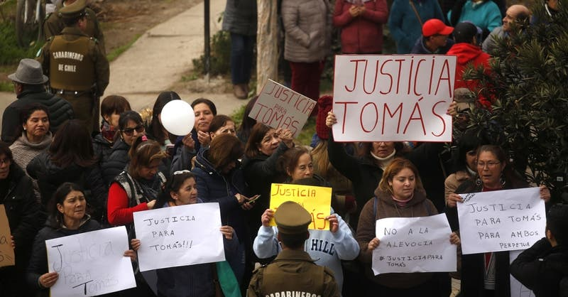 Crimen de joven scout: Condenan a 17 años de cárcel a autor material del homicidio de Tomás Acevedo