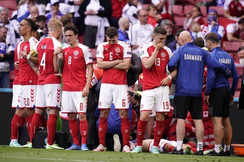 """Médico de Dinamarca: """"Hemos logrado hacer que Eriksen volviera"""""""