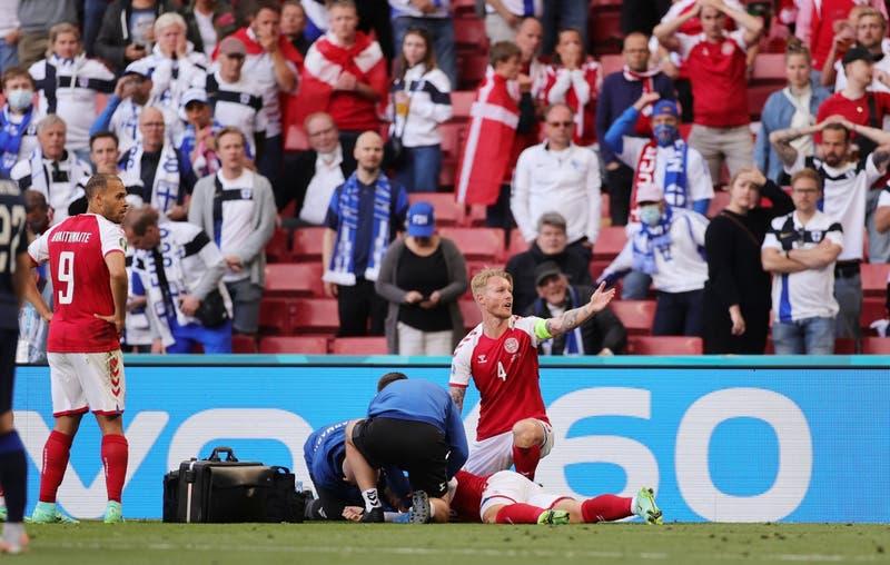 """Dinamarca: el partido del susto de Eriksen que """"nunca será olvidado"""