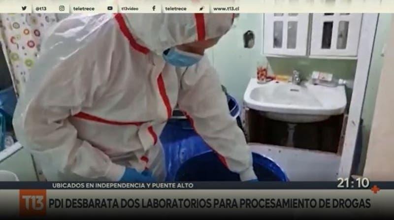 """Desbaratan laboratorios de """"limpieza"""" de droga: Más de 120 kilos de cocaína"""