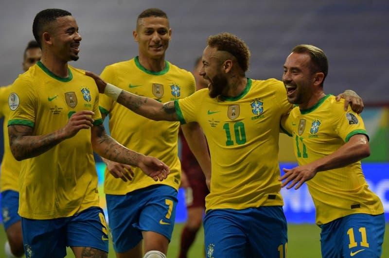 No lució pero ganó: Brasil vence a Venezuela en el inicio de la Copa América