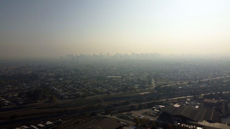 Decretan alerta ambiental para este lunes en la Región Metropolitana