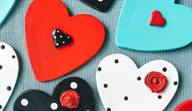 [VIDEO] Las amigas amantes de los corazones que comenzaron una pyme de figuras hechas a mano