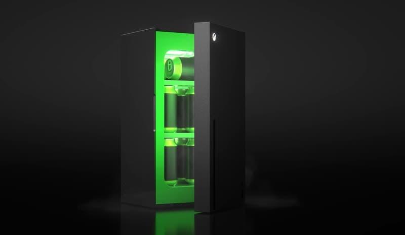 Xbox lanza mini bar basado en forma de su consola