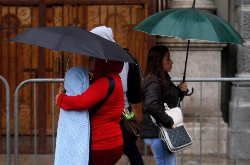 Lluvias y tormentas eléctricas en zona central: A qué hora comenzará a precipitar en la RM