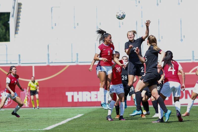 La Roja femenina iguala ante la poderosa Alemania en amistoso de preparación para Tokio 2020