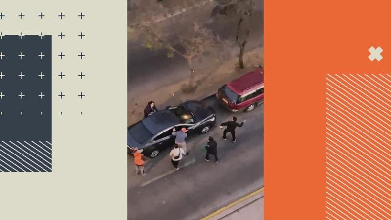 """Violento robo de auto en Lo Prado: A """"botellazos"""" defendieron a mujer y a su hijo"""