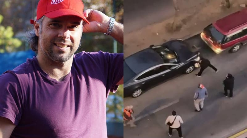 """""""Quiero reponerle las chelas"""": Feña González busca a hombre que quiso frustrar robo lanzando cerveza"""