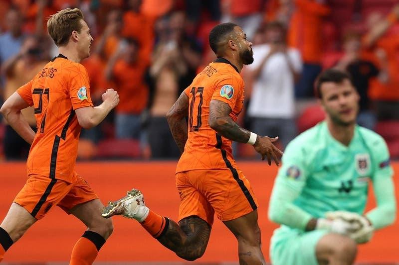 Holanda se mete en los octavos de final de la Eurocopa 2020 tras derrotar a Austria