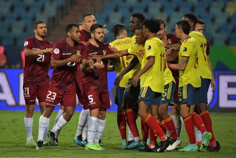 Colombia y Venezuela reparten puntos tras igualar sin goles en el Grupo B de la Copa América