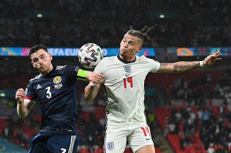 Escocia arrebata un empate a Inglaterra en el Wembley por la Eurocopa 2020