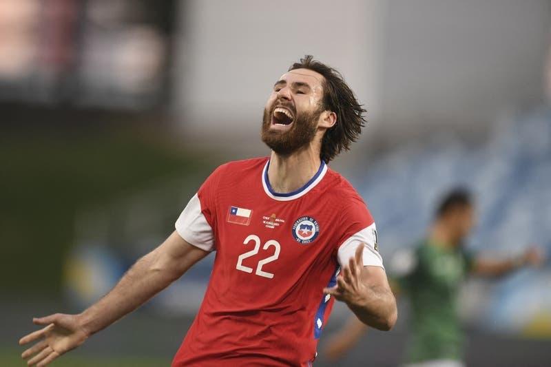 [FOTOS] La emotiva celebración de Ben Brereton contra Bolivia