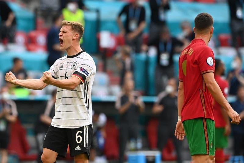 Alemania resucita en la Euro 2020 con contundente triunfo ante la campeona Portugal