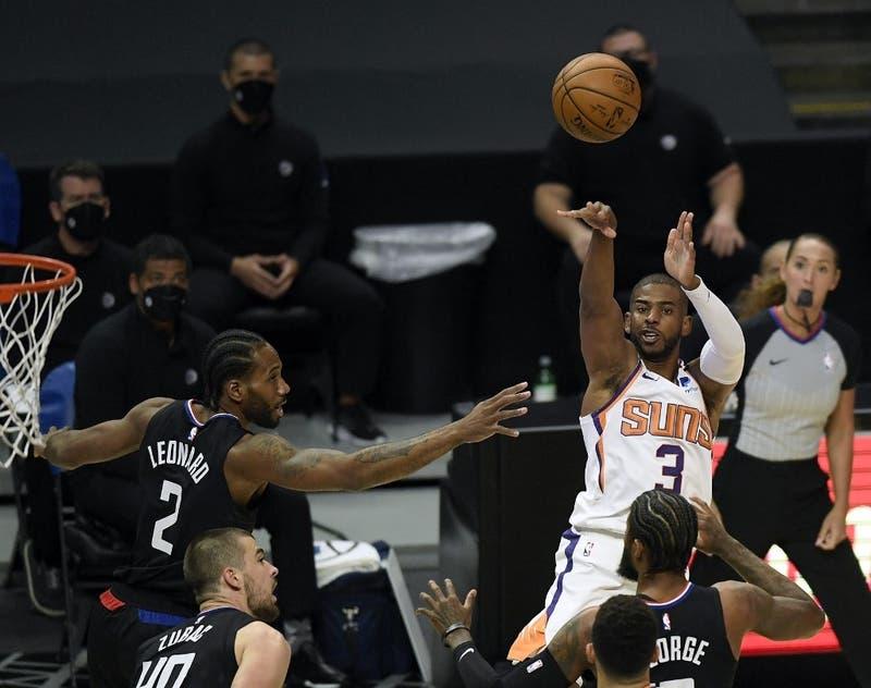 Playoffs de la NBA: Clippers y Suns arrancan final del oeste pendientes de sus lesionadas estrellas