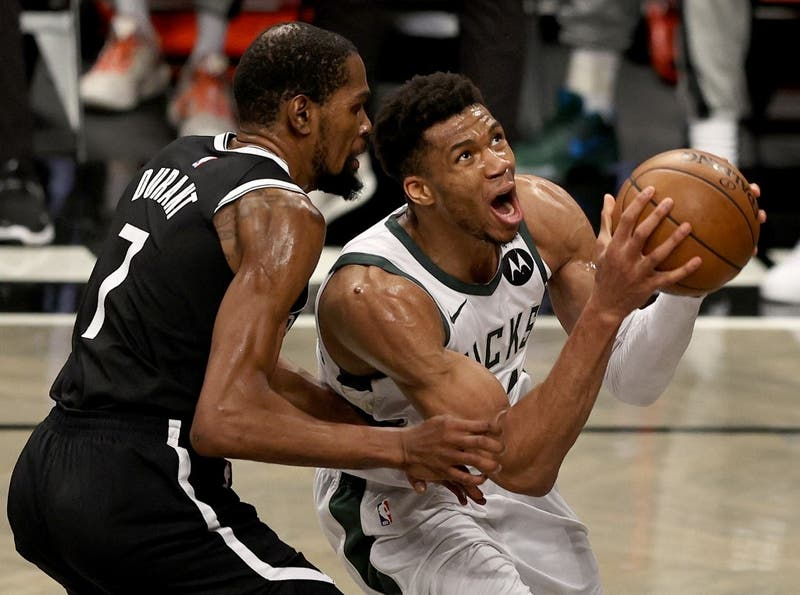 En un partidazo, los Bucks eliminaron a los Nets a pesar de la actuación épica de Durant