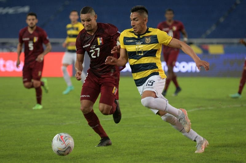 Venezuela le amarga la noche carioca a Ecuador en la Copa América