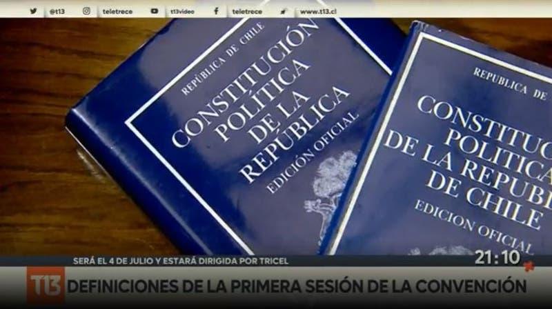 Definiciones de la primera sesión de la Convención Constitucional