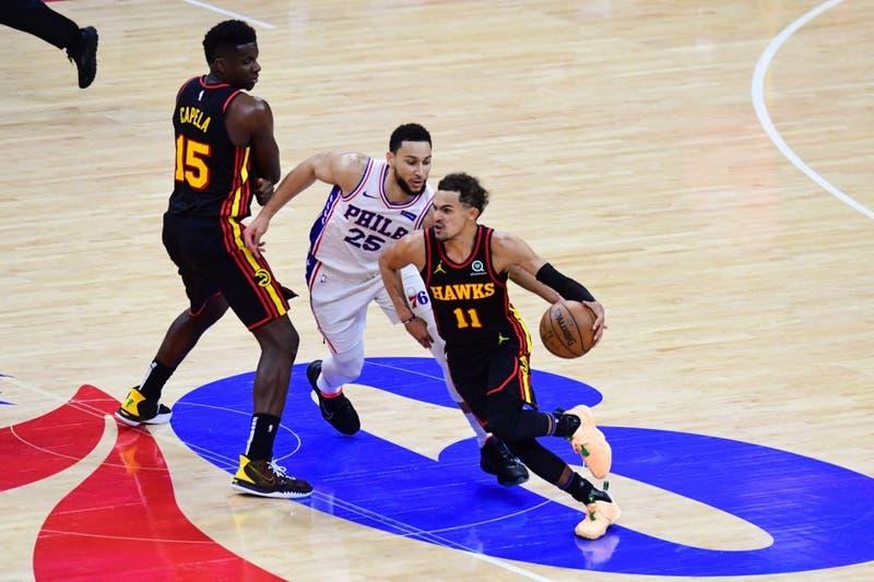 De la mano de Young: Los Hawks dan el golpe eliminando a los Sixers y pasando a final de conferencia