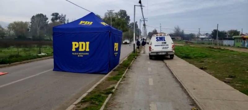 Encuentran a hombre muerto en una carretilla en plena calle en Talca: Fue asesinado