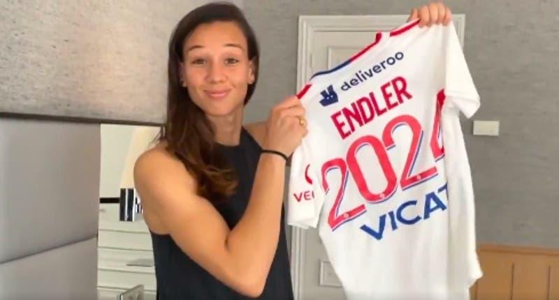 """Tiane Endler es presentada oficialmente en Lyon: """"Espero que ganemos todo la próxima temporada"""""""