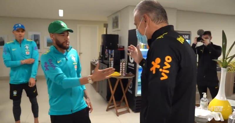 La sorpresa que Neymar y plantel de Brasil le prepararon a Tite por sus cinco años en la Canarinha