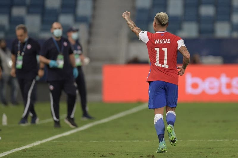 """Imparable """"Turboman"""": Revive el golazo de Eduardo Vargas ante Uruguay en Copa América"""