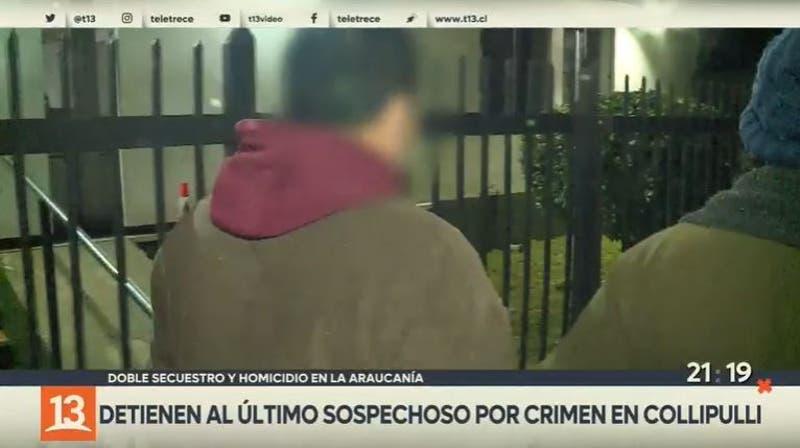 Detienen a último sospechoso por crimen en Collipulli