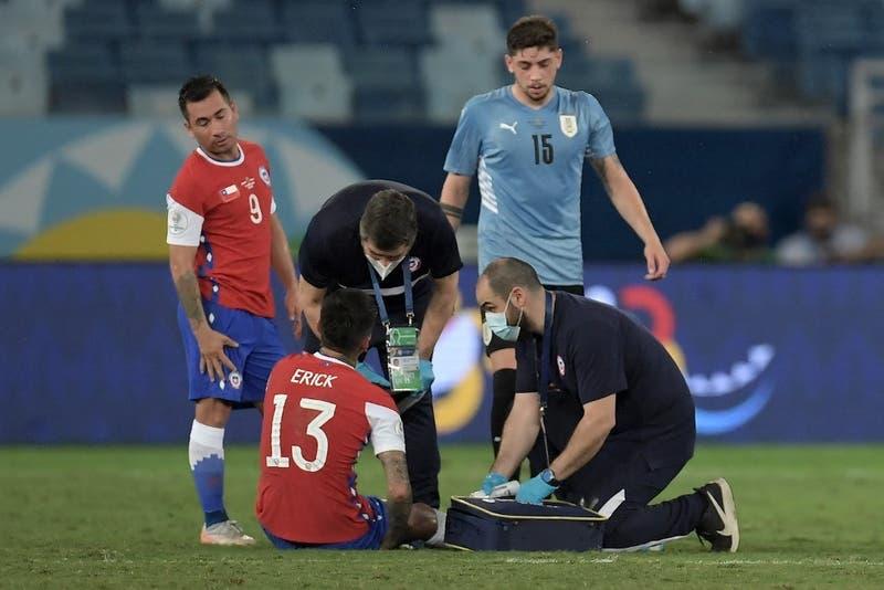 La Roja informa lesiones de Maripán y Pulgar tras empate ante Uruguay en Copa América