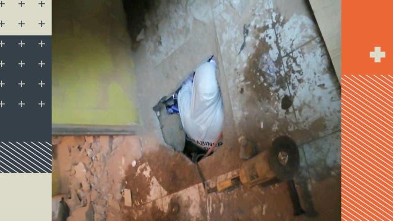 Entrenaron tres meses para robar joyería por un túnel pero los vecinos los delataron