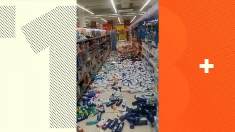[VIDEO] Redes sociales comparten registros tras fuerte sismo 6.0 en Perú