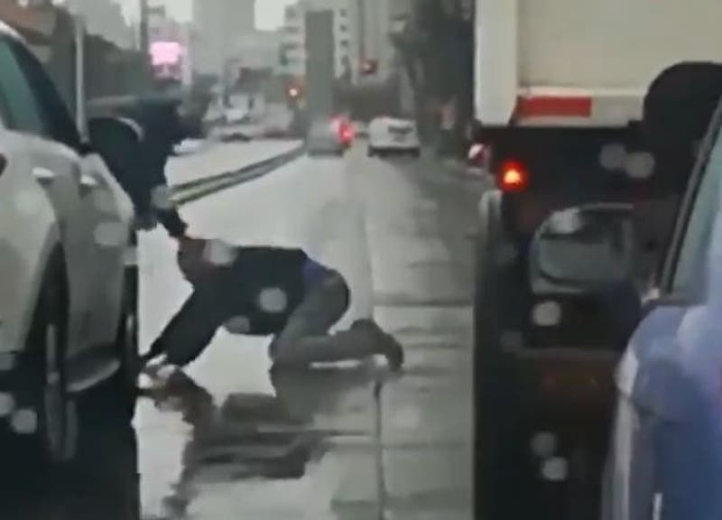 Altercado entre conductores en Viña del Mar termina a los golpes en plena calle
