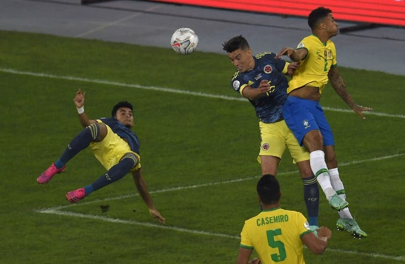 El mejor de Copa América: Revisa el golazo con el que Colombia le está ganando a Brasil
