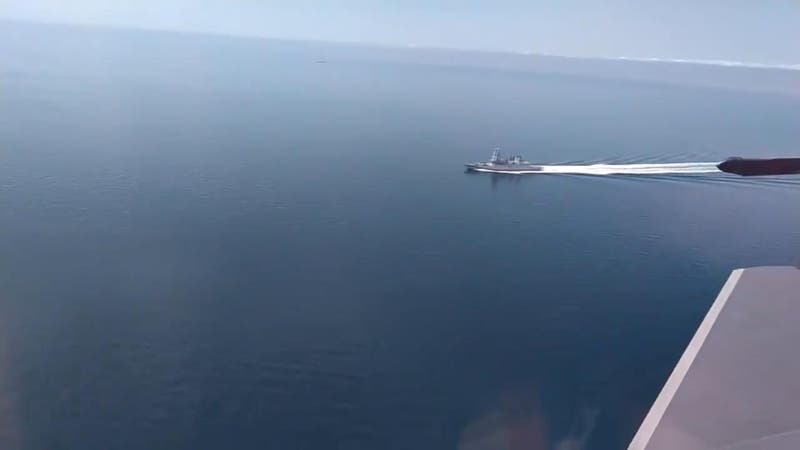 Rusia revela registro en que abre fuego de advertencia contra destructor británico en el Mar Negro