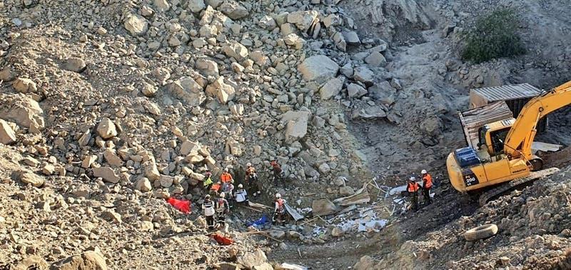Encuentran cadáver de uno de los trabajadores atrapados en minera de Ovalle