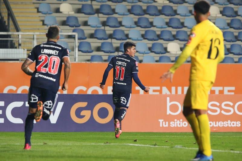 La U se salva de que no hay VAR en Copa Chile y vence a San Luis con polémico gol