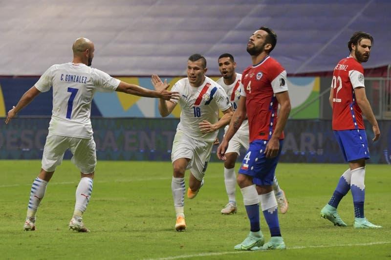 La Roja cae ante Paraguay y podría encontrarse con Brasil en los cuartos de final de Copa América