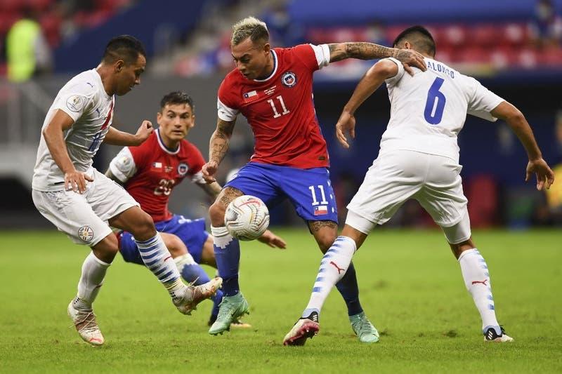 La Roja frente al arco rival: 7 remates a portería por cada gol conseguido en esta Copa América
