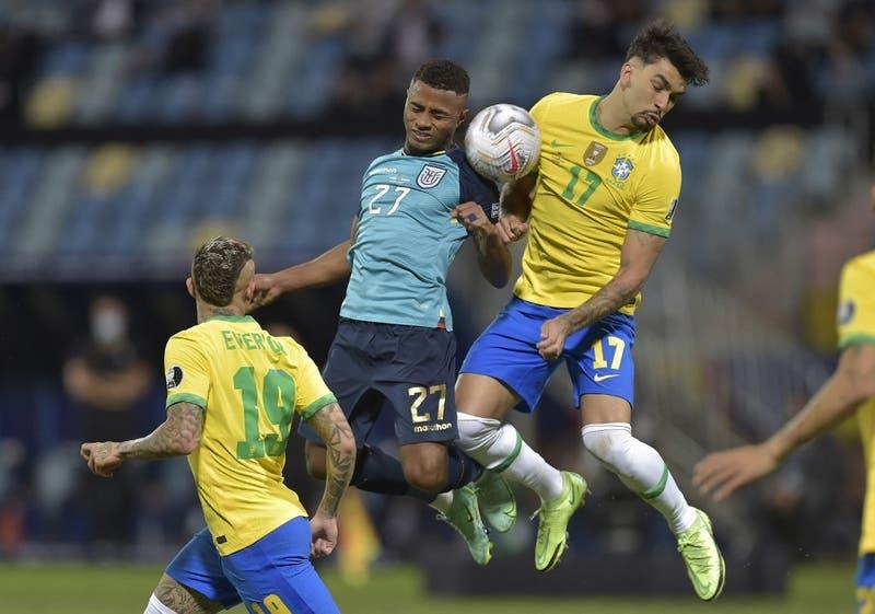 Ecuador rompe la perfección de Brasil: 1-1 y se mete en cuartos de la Copa América